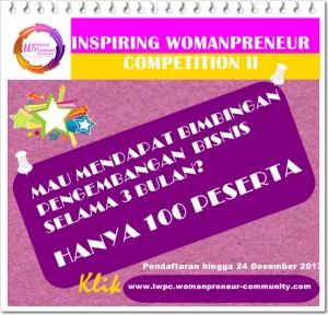 kompetisi wirausaha,womanpreneur competition,womenpreneur competition