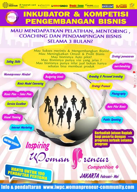 inkubaor bisnis womanpreneur